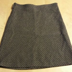 Old navy black/gray/silver skirt